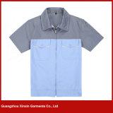 Usura superiore dell'abito del lavoro del manicotto di ordinamento di Coton per estate (W149)