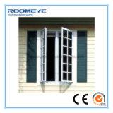 석쇠 디자인을%s 가진 알루미늄 여닫이 창 Windows의 Roomeye 2017 싼 가격