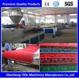 Linha pulverizada SPVC máquina da extrusora do carro de bobina & do tapete do assoalho do plástico