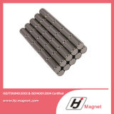 N52 de Permanente Gesinterde Magneet van NdFeB van het Borium van het Ijzer van het Neodymium van de Cilinder van de Zeldzame aarde met Sterke Macht