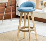 Bar Cadeiras Bar Stool Feito De Madeira De Estilo Moderno (M-X2050)