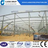 Almacén clásico de la estructura de acero del grupo del diseño prefabricado
