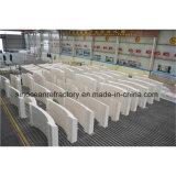 Gesmolten Gegoten die Bakstenen Azs voor de Hoge Duurzaamheid van de Corrosie worden gebruikt