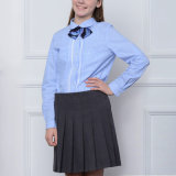 China Factory Wholesale Apparel Middle School Uniform Design Pink Chemises