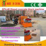 Het Blok van de dieselmotor en het Maken van de Baksteen Machine China de Hoogste Prijslijst van de Machine van het Blok van het Cement van het Merk Qt4-40