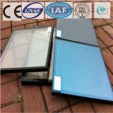 건물을%s 진한 파란색 색을 칠하는 명확한 부유물 또는 부드럽게 한 사려깊은 유리