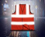 Hot Sale Custom Reflective Motorcycle Ride Clothes Segurança Saneamento Construction Vest
