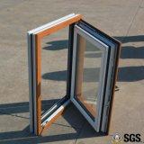 Ventana interna de la inclinación y de la vuelta del perfil de aluminio de la alta calidad, ventana de aluminio, ventana K04011