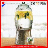 10 l опарник распределителя напитка питья стеклянный с стойкой