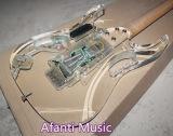 Música de Afanti/guitarra elétrica acrílica do diodo emissor de luz Jem (AAG-055)