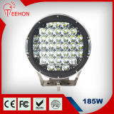 "정면 Bumper 9 "" Offroad SUV Jeep를 위한 185W 크리 말 LED Work Light 16650lm LED Driving Light"