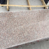 Chinese Cheap Granite G687 Peach Red Polished Slabs