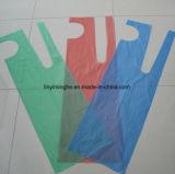 Grembiule imballato piegato LDPE di plastica a gettare dell'HDPE singolo