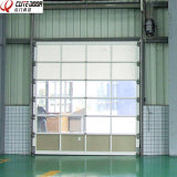 Portão de aço inoxidável Industrial Double Steel Glass Perspectiva