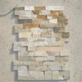 Chinesischer natürlicher kultureller Stein für Wand-Gesichts-Dekoration