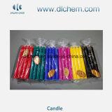 Velas decorativas da coluna do preço do competidor