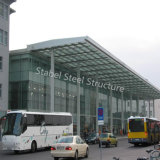 Автобусная станция стальной структуры высокого качества для шины/пошлины/газа/Railway