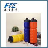 Sport-Wasser-Flasche mit Wasser-Flasche des UR Firmenzeichen-750ml Platsic