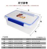 BPA liberano il contenitore di memoria di plastica di plastica dell'alimento del contenitore 10PCS di Crisper