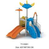 娯楽子供の販売(TY-170220)のための屋外の運動場装置