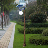 De Lamp van de zonne LEIDENE Tuin van de Straatlantaarn Openlucht