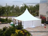 Tente d'usager de pagoda de couleur de zone blanche translucide