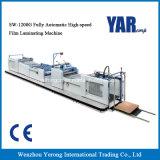 Sw-1200G completamente automática máquina laminadora película de alta velocidad con CE
