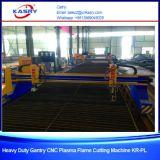 ステンレス鋼および炭素鋼の版のガントリーCNC血しょうおよび酸素のガス切断機械