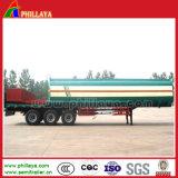 3 de Tankwagen van Oil van assen met Roestvrij staal Tank