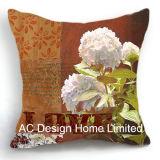 Классический дизайн Hydrangea квадратной матрицы подушка с заполнением