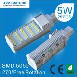 LED SMD 5W5050 Pl lumière G24