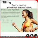 Reloj inteligente para teléfono móvil con el sueño el monitor, el podómetro, el consumo de calorías, Función de Cálculo de distancia