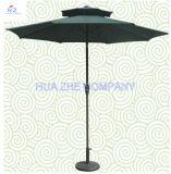 10FT doppeltes Dach-im Freiensonnenschirm-Garten-Regenschirm