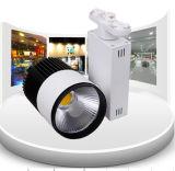 20W COB drei-adrig LED Track Rail Head Light