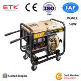 力のディーゼル発電機セットDg6le (5KWお偉方)
