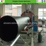 Tuyau d'eau en polyéthylène PEHD/Ligne de production avec mur structuré