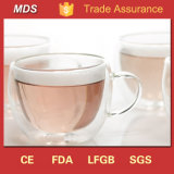 Borosilicato De Vidro Isolado De Dupla Parede Para Chá e Café