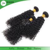 毛の拡張卸売の人間の毛髪の工場のモンゴルのねじれた巻き毛