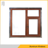 アルミニウムフレームの傾きおよび回転Windowsの倍のガラス窓