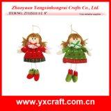Décoration de Noël (ZY11S270-1-2-3) Ornement de cadeau d'ange de Noël
