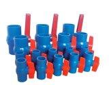 Langer Plastikgriff 2 Zoll Belüftung-Kugelventil-blauer Kugelventil-Plastik
