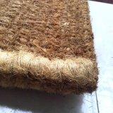 Stuoie olandesi intarsiate del pavimento del portello delle moquette delle coperte tessute spazzola Handmade della fibra di noce di cocco della fibra di cocco dei Cochi del Panama del corridoio della rastrelliera del telaio a mano non