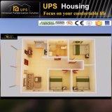 Chambre préfabriquée en acier chaude ignifuge du niveau A1 Galavnized pour vivre