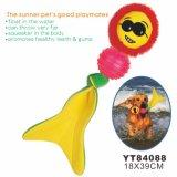 Cane che fa galleggiare giocattolo molle, giocattolo dell'animale domestico (YT84088)
