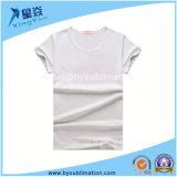 여성을%s 연약한 모양 둥근 목 t-셔츠