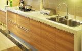 Carcassa del pannello di particelle con l'armadio da cucina di rivestimento della melammina (zg-009)