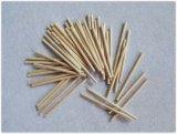 خشبيّة عصا لون طبيعيّ مستديرة [لولّيبوب] ب التصق [بوبسكل] خشبيّة [إيس كرم] عصا حرفة عصا