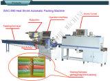 Máquina del envoltorio retractor del calor de los bolsos de basura