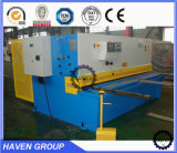 QC11Y 유압 단두대 깎는 기계 금속 장 전단기