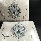 Стикеры комода диаманта слипчивого акрилового самоцвета стикера кожи глаза яркия блеска Bling кристаллический (E08)